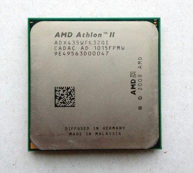 Процесор AMD Athlon II X3 435 2,9 GHz sAM3 Tray 95w (ADX435WFK32GI ADX435WFK32GM) Rana Б/У