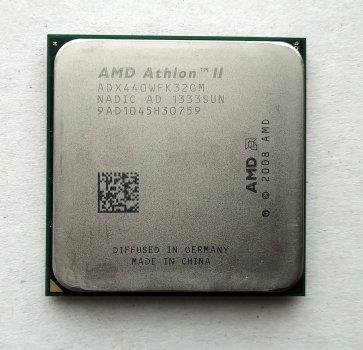 Процесор AMD Athlon II X3 440 3,0 GHz sAM3 Tray 95w (ADX440WFK32GI ADX440WFK32GM) Rana Б/У