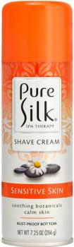 Пена для бритья Pure Silk Sensitive Skin Therapy Терапия чувствительной кожи 214 мл (051009309939)