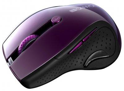 Миша Canyon CNS-CMSW01P Wireless Purple/Black