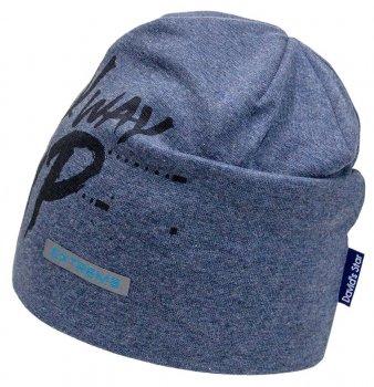 Демисезонная шапка David's Star 21327 50 см Синяя (ROZ6400016017)
