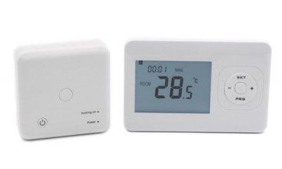 Програматор тижневий (термостат) з функцією Wi-Fi AR-02WF для газового котла, безпровідний