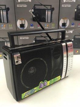 Радіоприймач всехвильовий колонка магниофон Golon RX-M70BT