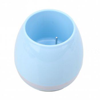 "Умная Bluetooth колонка ""музыкальный горшок"" Musicplus Pots голубой"