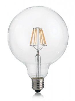 Світлодіодна лампа Ideal Lux Classic E27 8W Globo D125 Trasp 3000K Dimmer (188959)