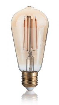 Світлодіодна лампа Ideal Lux Vintage E27 4W Cono 2200K Dimmer (223919)
