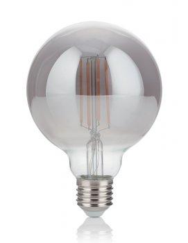 Світлодіодна лампа Ideal Lux Vintage E27 4W Globo Small Fume' 2200K (204475)