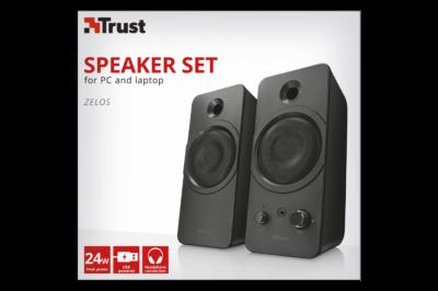 Колонки Trust Zelos Speaker Set for pc and laptop(21748)