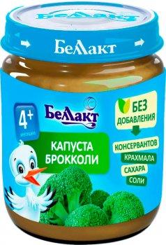 Упаковка овочевого пюре Беллакт з броколі 12 банок по 100 г (4814716000614_12)