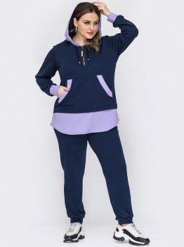 Спортивный костюм Dressa 53249 Темно-синий