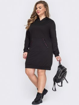 Плаття Dressa 53267 Чорне