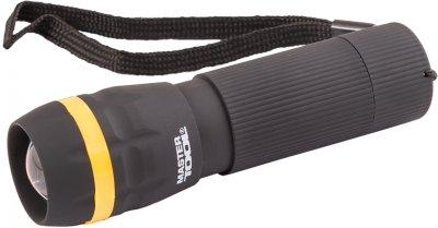 Ліхтар з регулюванням фокусу Mastertool 103 х 31 мм LED 3 x AAA, ABS (94-0801)