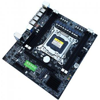 Материнська плата Huanan X79 A4 (s2011, Intel X79, PCI-Ex16)