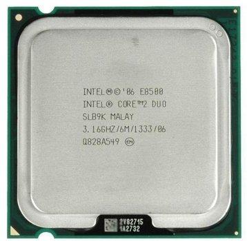 Процесор Intel Core 2 Duo E8500 3.16 GHz/6M/1333 (SLB9K) s775, tray