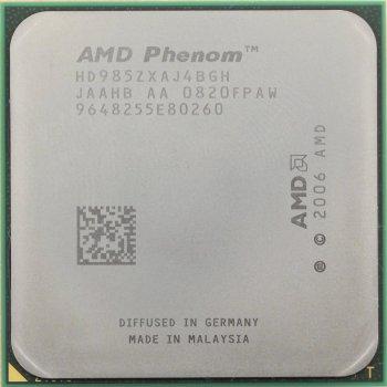 Процессор AMD Phenom X4 9950 2,60GHz/2Mb/2000MHz (HD995ZXAJ4BGH) sAM2+, tray