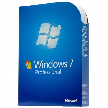 Microsoft Windows 7 Pro, 32/64-bit Russian BOX (FQC-00265)
