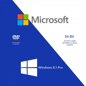 Microsoft Windows 8.1 Pro x64 Russian OEM (FQC-06930)