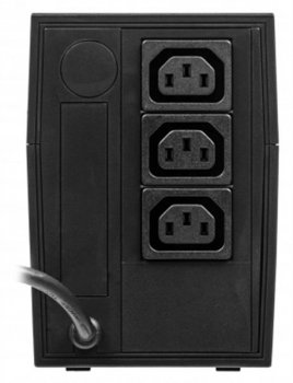 ДБЖ Powercom RPT-1000A, Lin.int., AVR, 3 x євро, пластик (00210191)