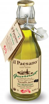 Нефільтрована оливкова олія Diva Oliva Екстра Вірджін з чорним трюфелем 250 мл (5055448004658)