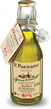 Нефильтрованное оливковое масло Diva Oliva Экстра Вирджин с базиликом 250 мл (5055448004634)