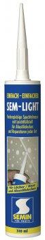 Полімерна шпаклівка для закладення тріщин SEM LIGHT, 310 мл туба,