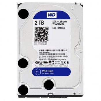 """Жорсткий диск 3.5"""" 2TB WD (WD20EZRZ)"""