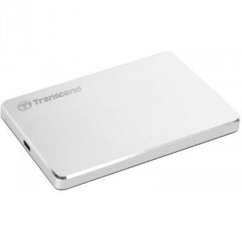 """HDD ext 2.5"""" USB 2.0 TB Transcend StoreJet 25C3S Silver (TS2TSJ25C3S)"""