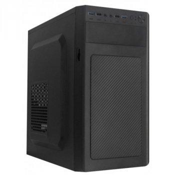 Корпус Logicpower 6116-400W 12см, 2xUSB2.0, 2xUSB3.0, Black