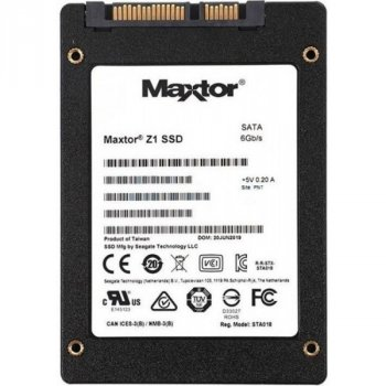 """SSD 240GB Seagate Maxtor Z1 2.5"""" SATAIII TLC (YA240VC1A001)"""