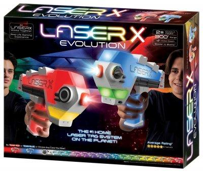 Игровой набор для лазерных боев Lazer X Evolution для двух игроков (88908)