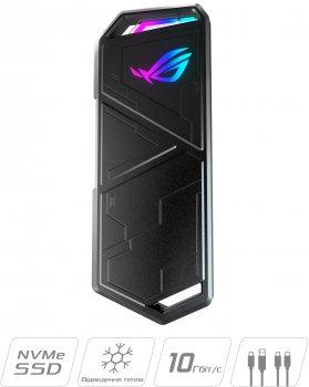 Внешний карман Asus ROG Strix Arion для M.2 SSD NVMe (PCIe) - USB 3.2 Type-C (ESD-S1C/BLK/G/AS)