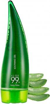 Универсальный гель 99% алоэ вера Holika Holika Aloe 99% Soothing Gel 250 мл (8806334377359)