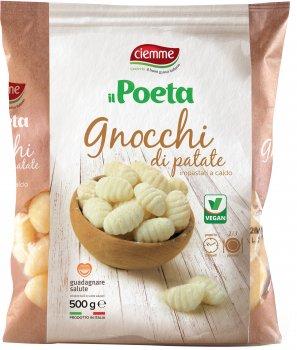 Ньокі картопляні Ciemme Alimentari Il Poeta класичні веганські 500 г (8033087770124)