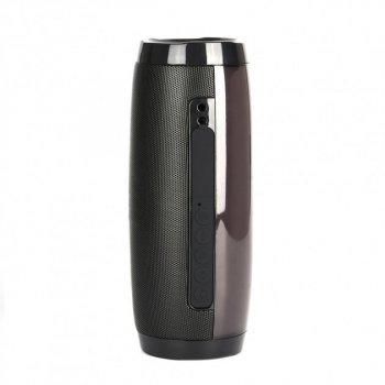 Переносная Bluetooth колонка T&G 157 Pulse Портативная с разноцветной подсветкой, громкая связь. Черная