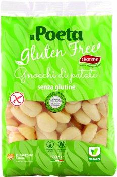 Ньокі картопляні Ciemme Alimentari Il Poeta без глютену веганські 500 г (8033087771626)
