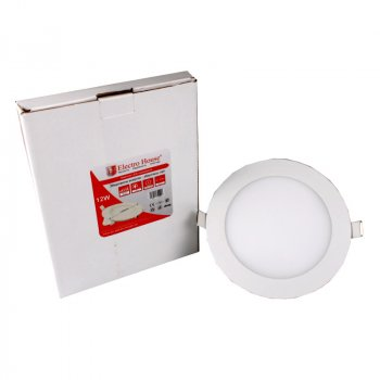 LED панель ElectroHouse кругла 12W 4100К 1080Lm Ø 170мм