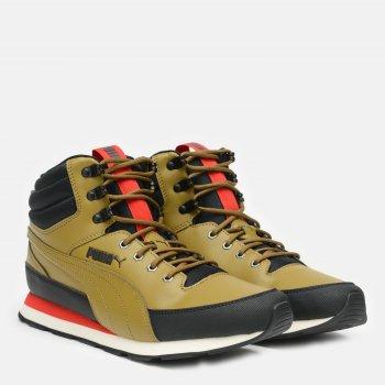 Ботинки Puma Vista Mid Utility 37220301 Moss Green-High Risk Red-Puma Black