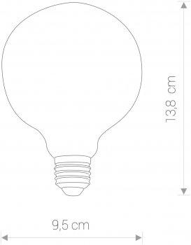 Світлодіодна лампа Nowodvorski NW-9797 Vintage LED