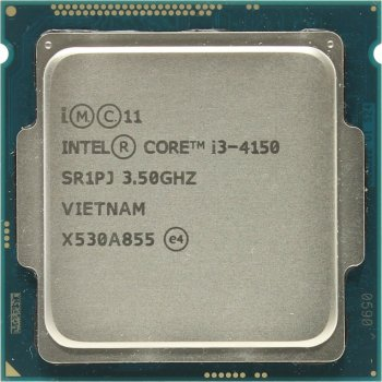 Процесор Intel Core i3-4150 3.5 GHz/3MB/5GT/s (SR1PJ) s1150, tray