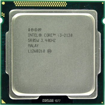 Процесор Intel Core i3-2130 3.4 GHz/3MB/5GT/s (SR05W) s1155, tray