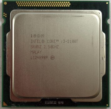 Процесор Intel Core i3-2100T 2.50 GHz/3MB/5GT/s (SR05Z) s1155, tray