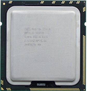 Процесор Intel Xeon E5540 2.53 GHz/8M/5.86 GT/s (SLBF6) s1366, tray