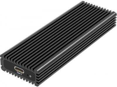 Зовнішня кишеня Maiwo для M.2 SSD NVMe (PCIe) / M.2 SSD SATA — USB 3.1 Type-C (K1687P2)