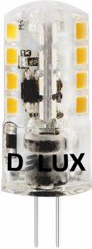 Світлодіодна лампа DELUX G4E 3 Вт 3000 K 220 В G4 (90009682) 4 шт.