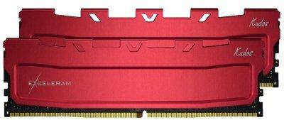 Оперативна пам'ять Exceleram DDR4-2400 65536 MB PC4-19200 (Kit of 2x32768) Red Kudos (EKRED4642415CD)