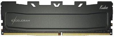 Оперативна пам'ять Exceleram DDR4-2400 16384 MB PC4-19200 Black Kudos (EKBLACK4162417C)