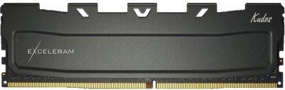 Оперативна пам'ять Exceleram DDR4-3600 32768 MB PC4-28800 (Kit of 2x16384) Black Kudos (EKBLACK4323618CD)
