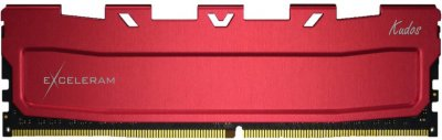 Оперативна пам'ять Exceleram DDR4-3200 32768 MB PC4-25600 (Kit of 2x16384) Red Kudos (EKRED4323216CD)