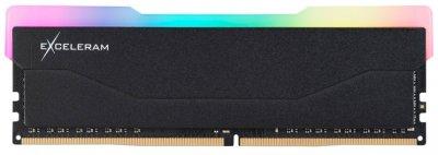 Оперативна пам'ять Exceleram DDR4-3200 8192 MB PC4-25600 RGB X2 Series Black (ERX2B408326A)
