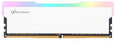 Оперативна пам'ять Exceleram DDR4-3200 8192 MB PC4-25600 RGB X2 Series White (ERX2W408326A)